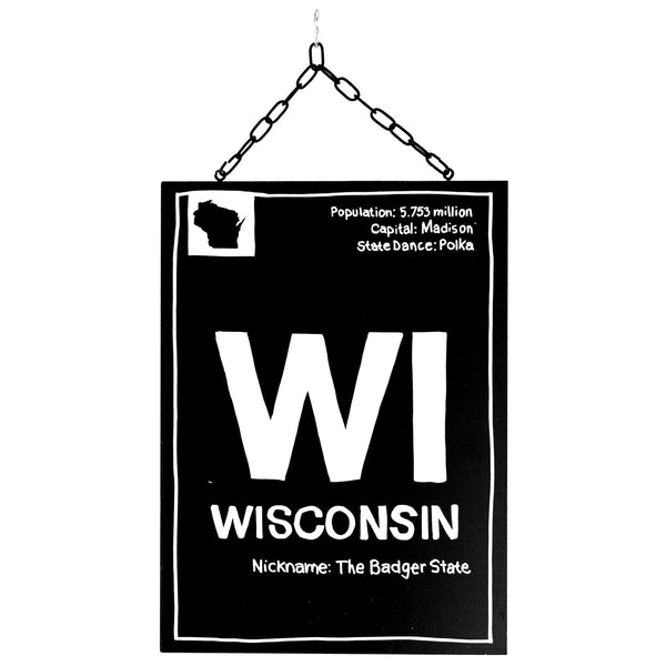 wisconsin information | plaque