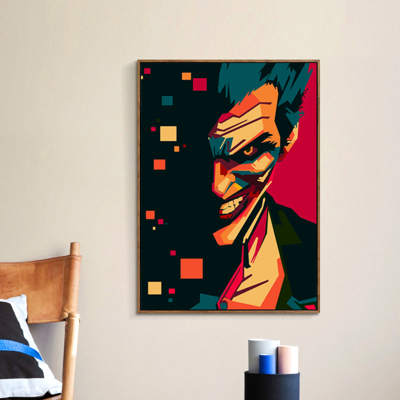 Abstract Joker Art