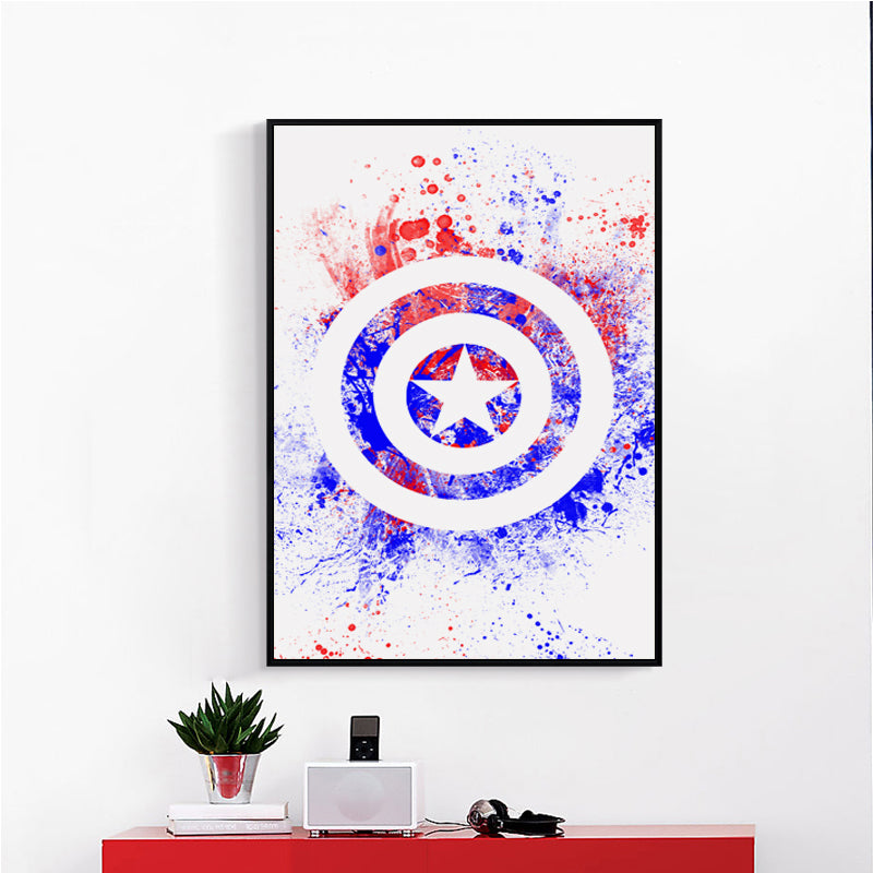 Abstract Marvel Art