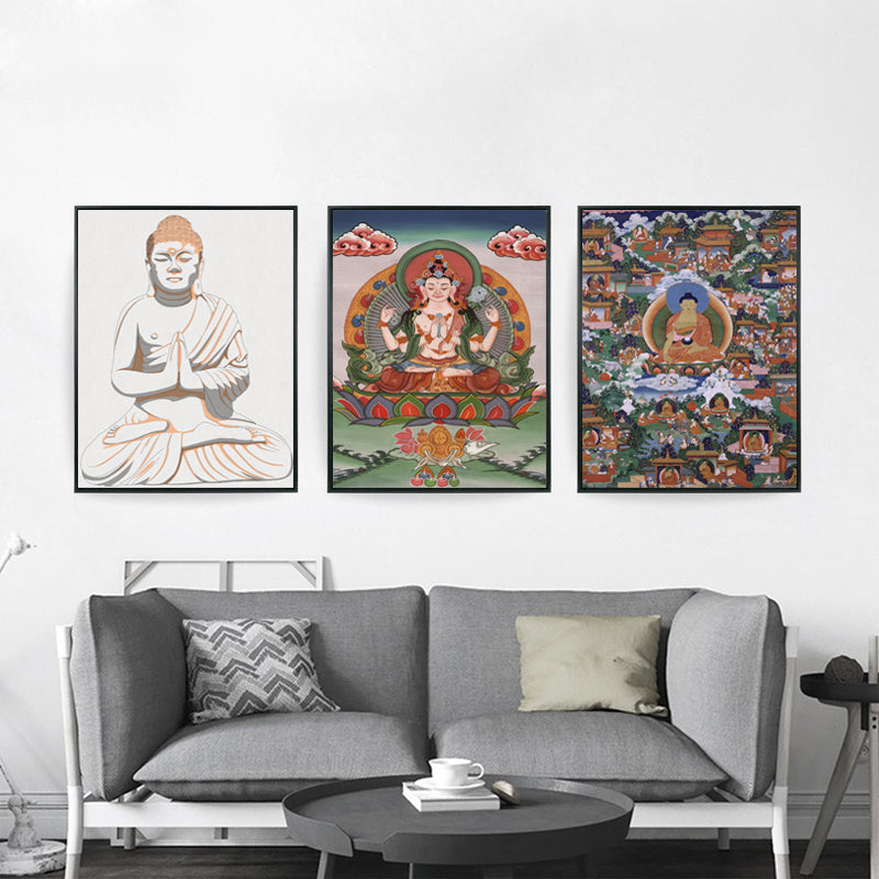 Abstract Buddha Art