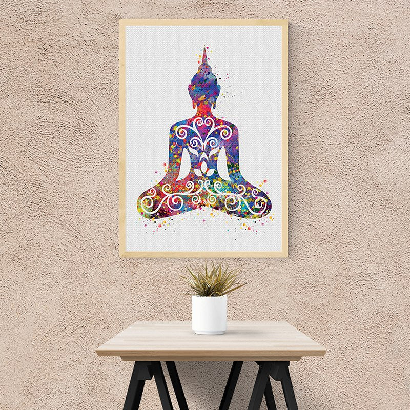 Modern Abstract Buddha