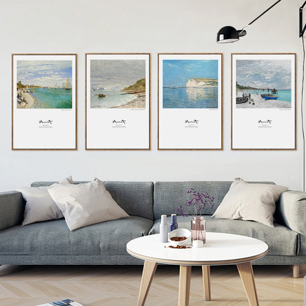 Modern Beach Canvas