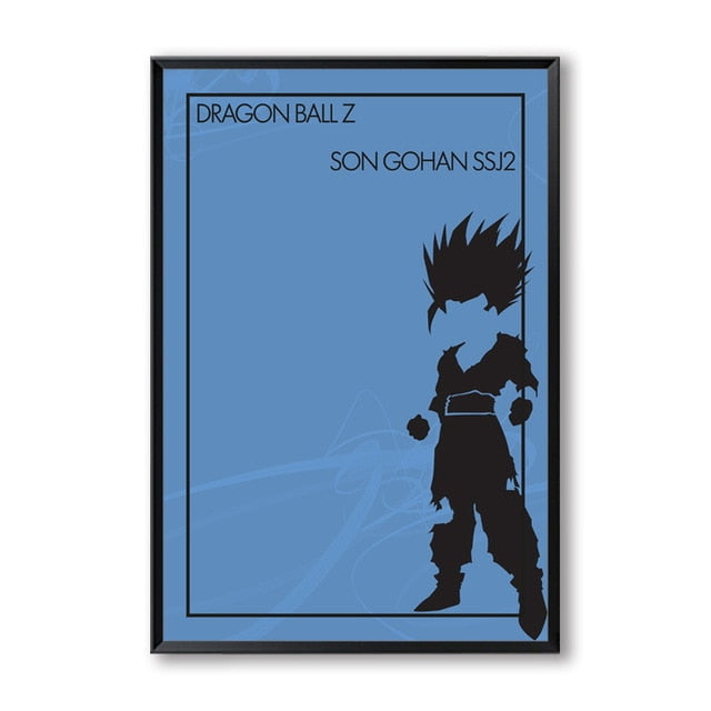 Minimalist Dragon Ball