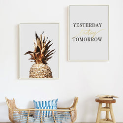Chic Pineapple Quote