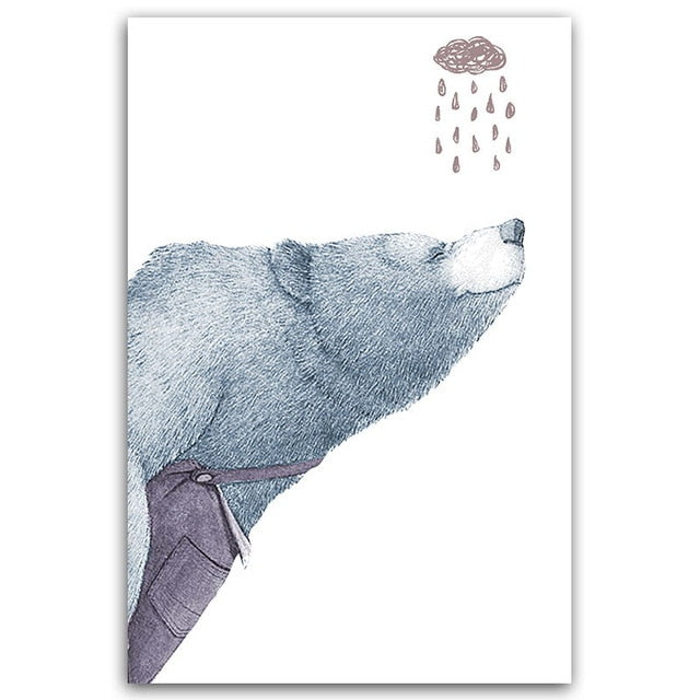 Nordic Abstract Bear