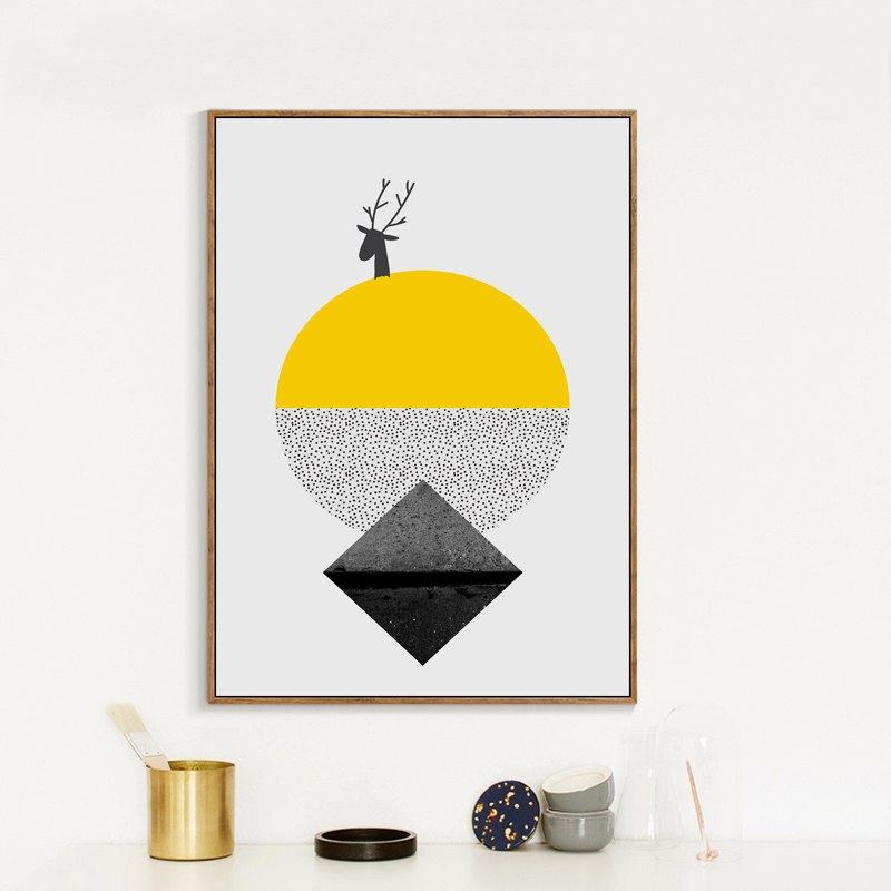 Minimalist Abstract Shapes