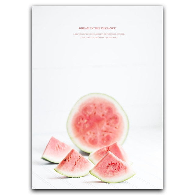 Chic Watermelon Art
