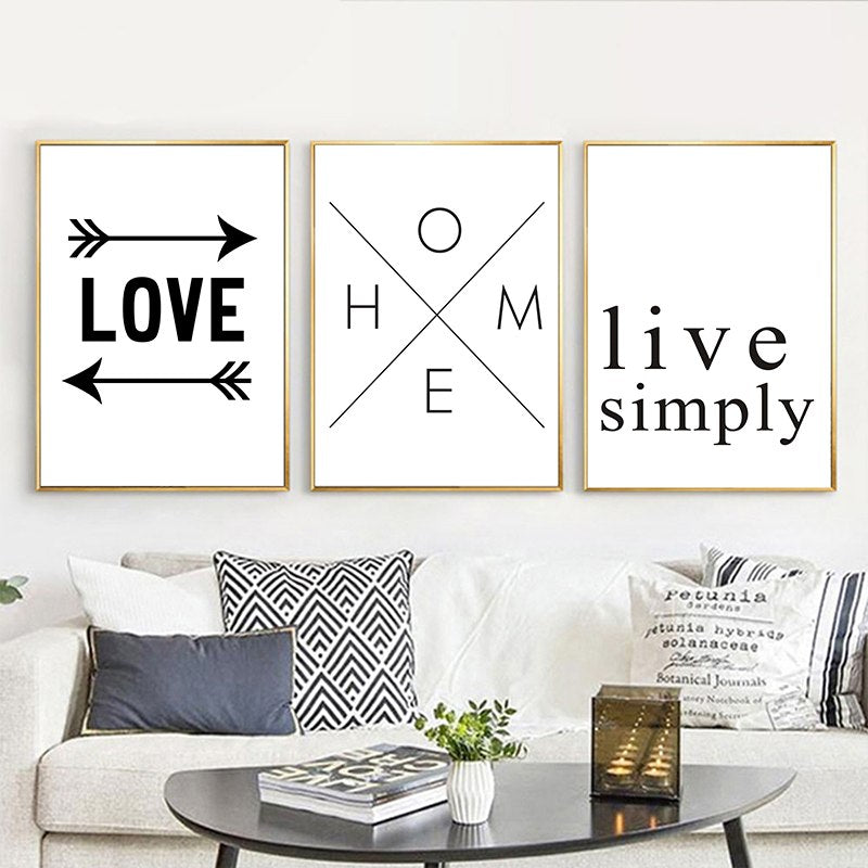 Monochrome Home Quotes