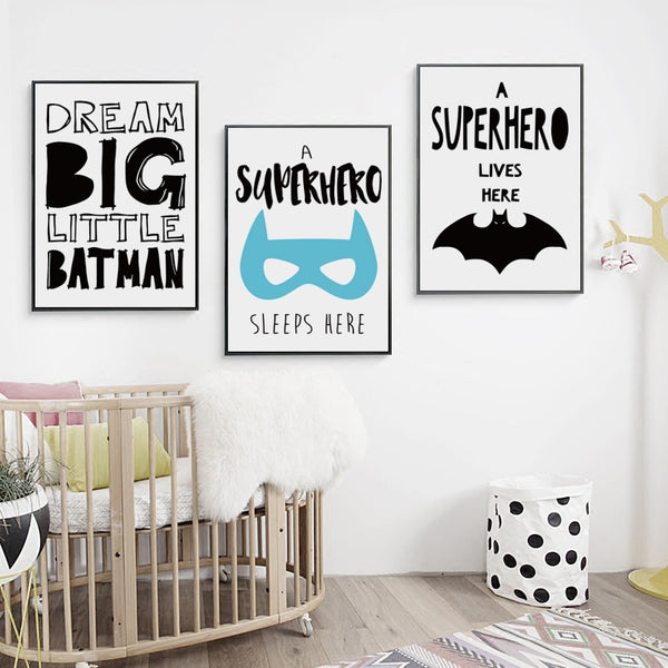 Inspirational Batman Canvas