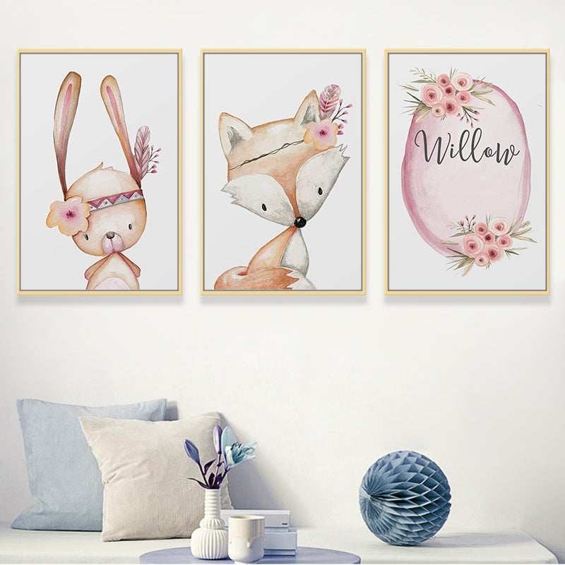 Boho Flower Animals