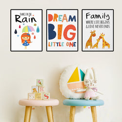 Dream Big Canvas