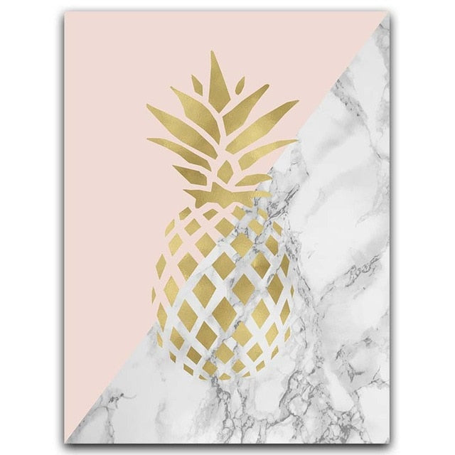 Nordic Pineapple Art