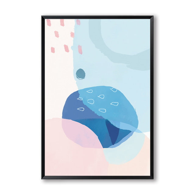 Modern Pastel Abstract