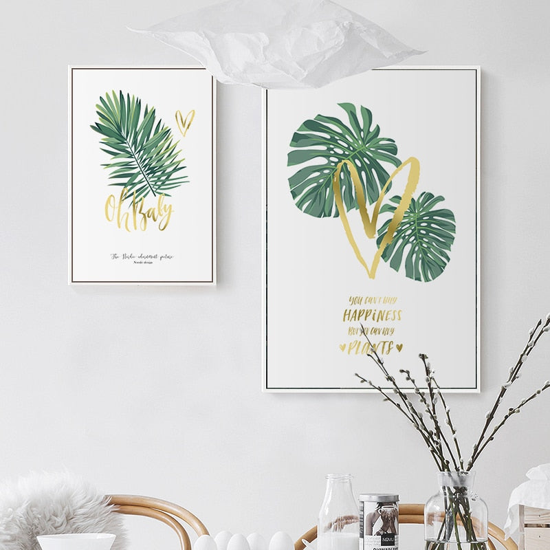 Chic Palm Leaves