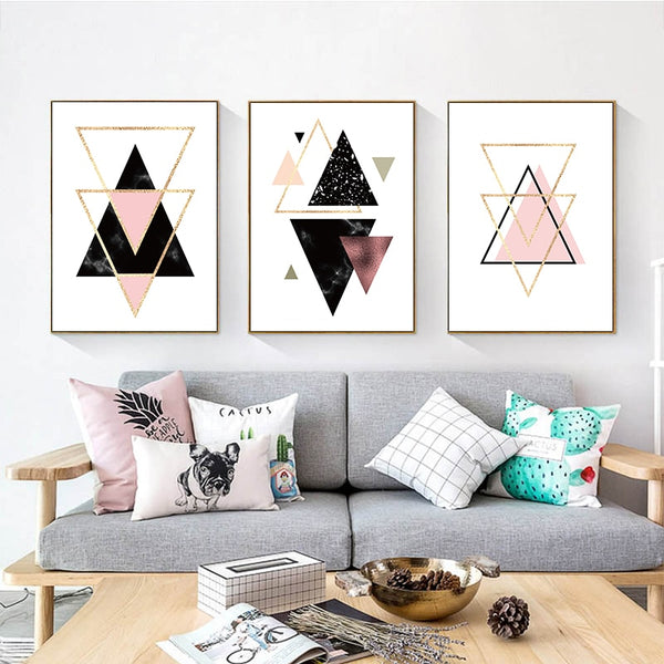 Chic Geometric Art