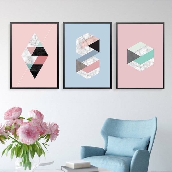Pastel Abstract Geometric