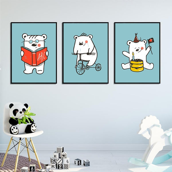 Cartoon Bear Art
