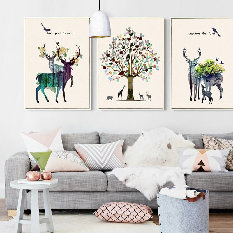 Nordic Colorful Animals