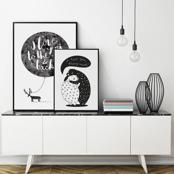 Nordic Bear Canvas