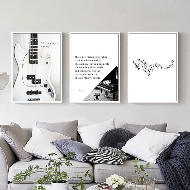 Music Quote Art