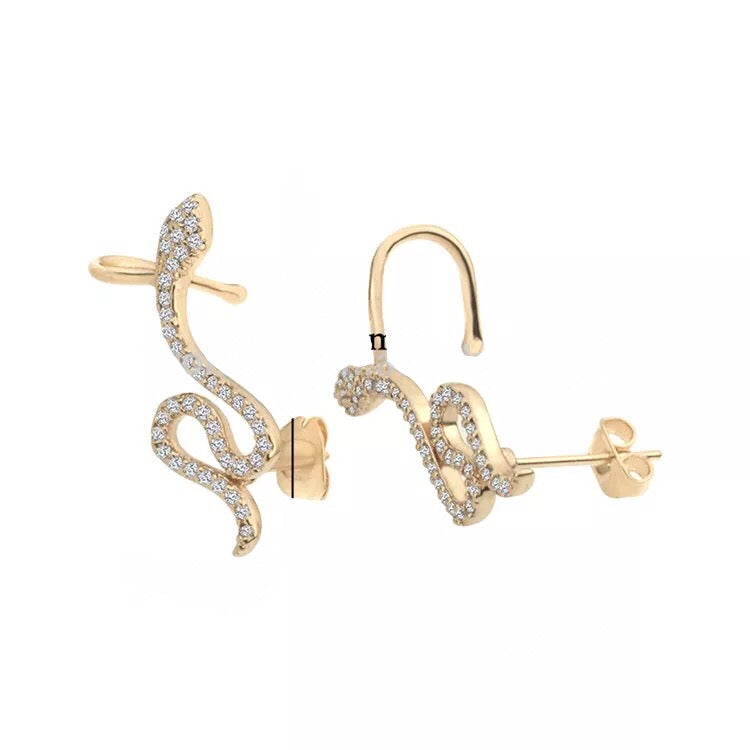 Diamond snake ear climber