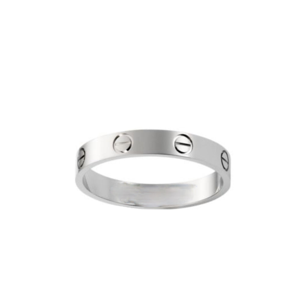 Silver C ring