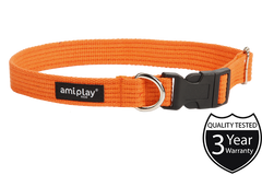 AMI Play Cotton Dog Collar