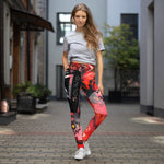 Denver City Sound Yoga Leggings w/ Pocket