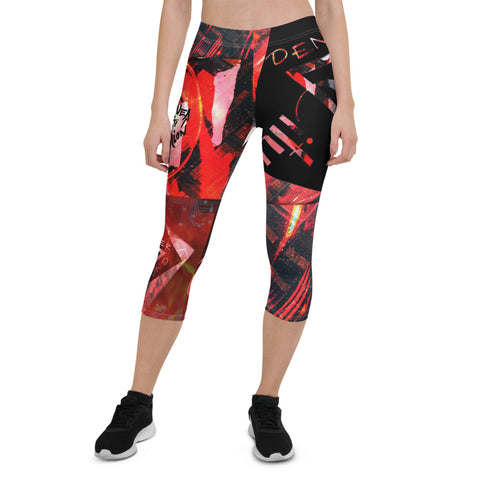 Denver City Sound Capri Leggings