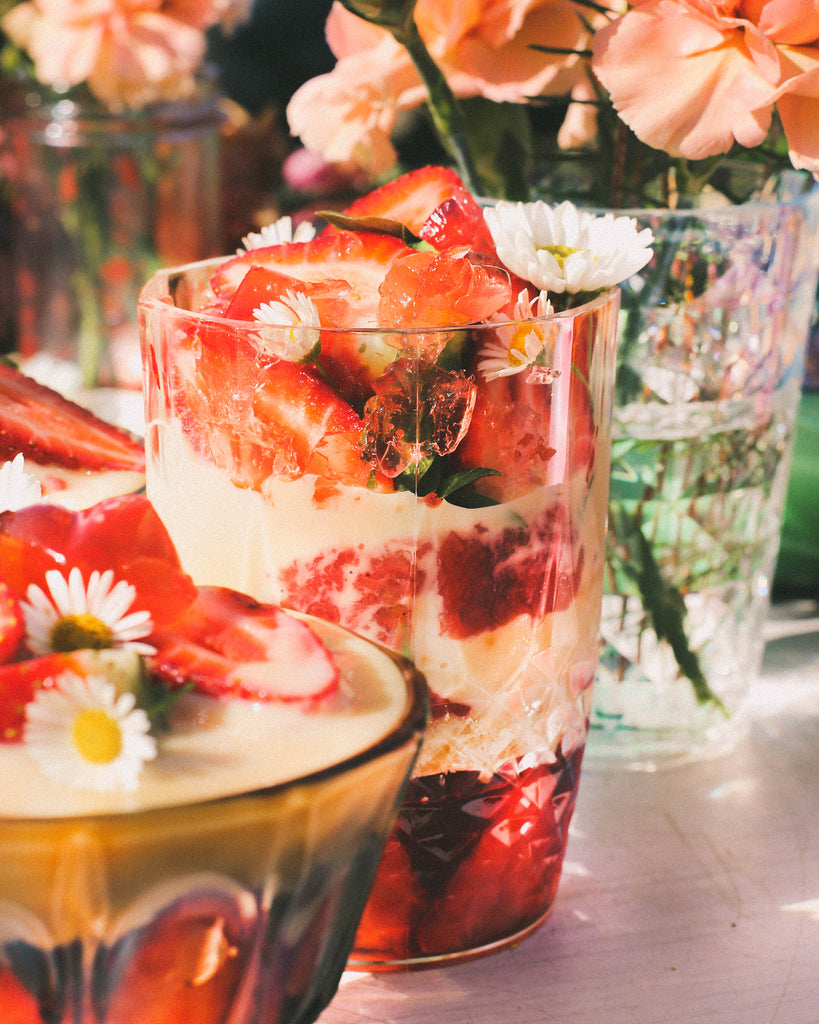 Strawberry and Custard Trifle