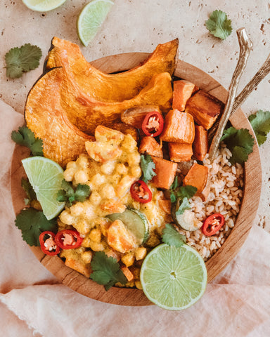 Chickpea Panang Nourish Bowl