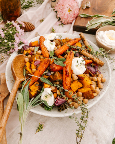 Cinnamon Sweet Potato Salad