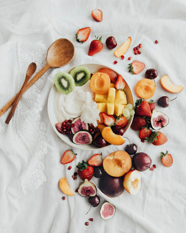 Fruit Salad with Protein Coconut Yoghurt