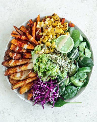 Rainbow Loaded Fries