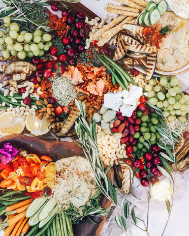 Wholesome Summer Mezze Board