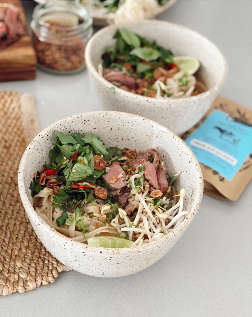 Beef Pho with Beef Bone Broth