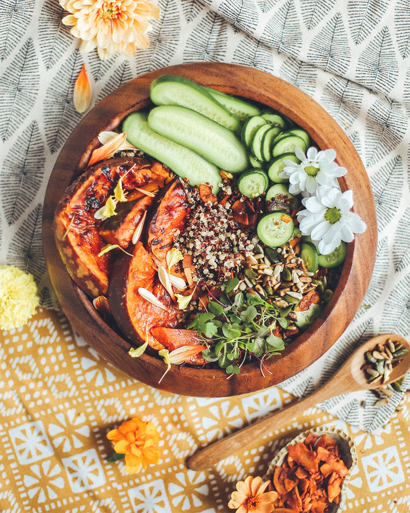 Simple Quinoa Bowl