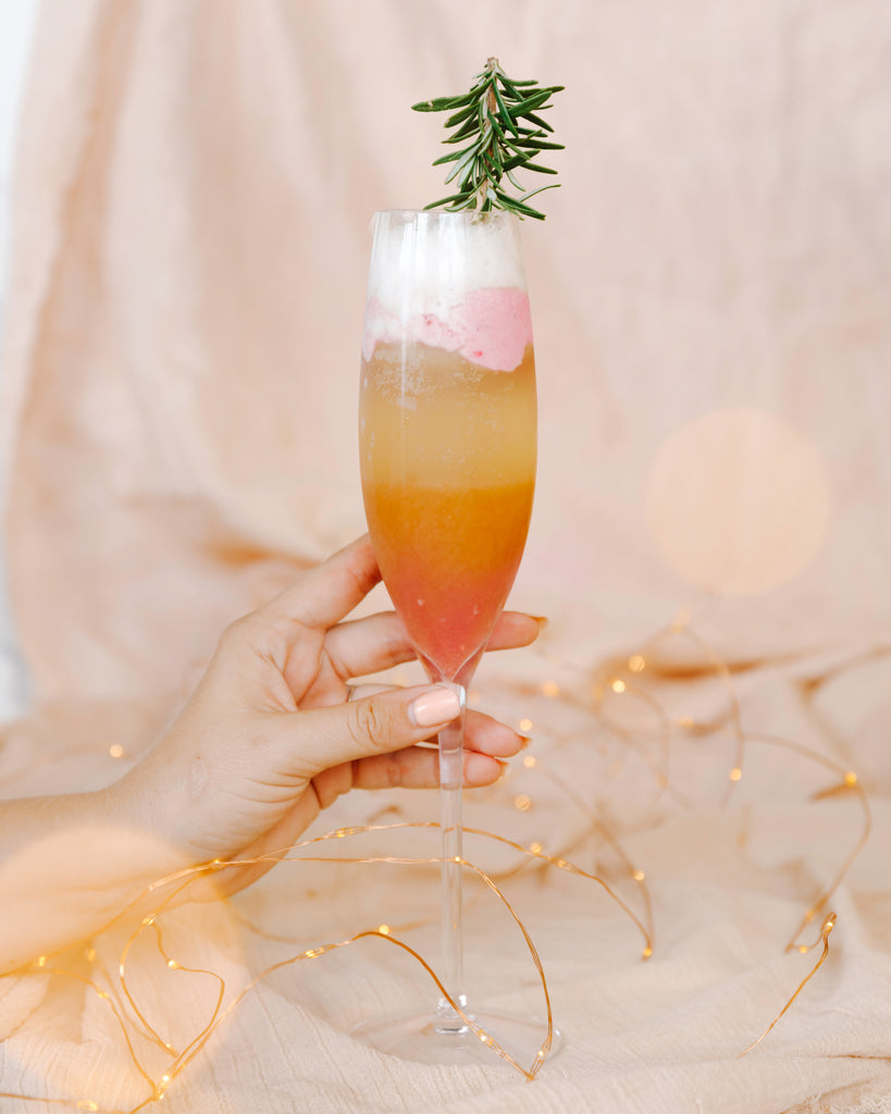 Merry Mimosa Sunrise Float