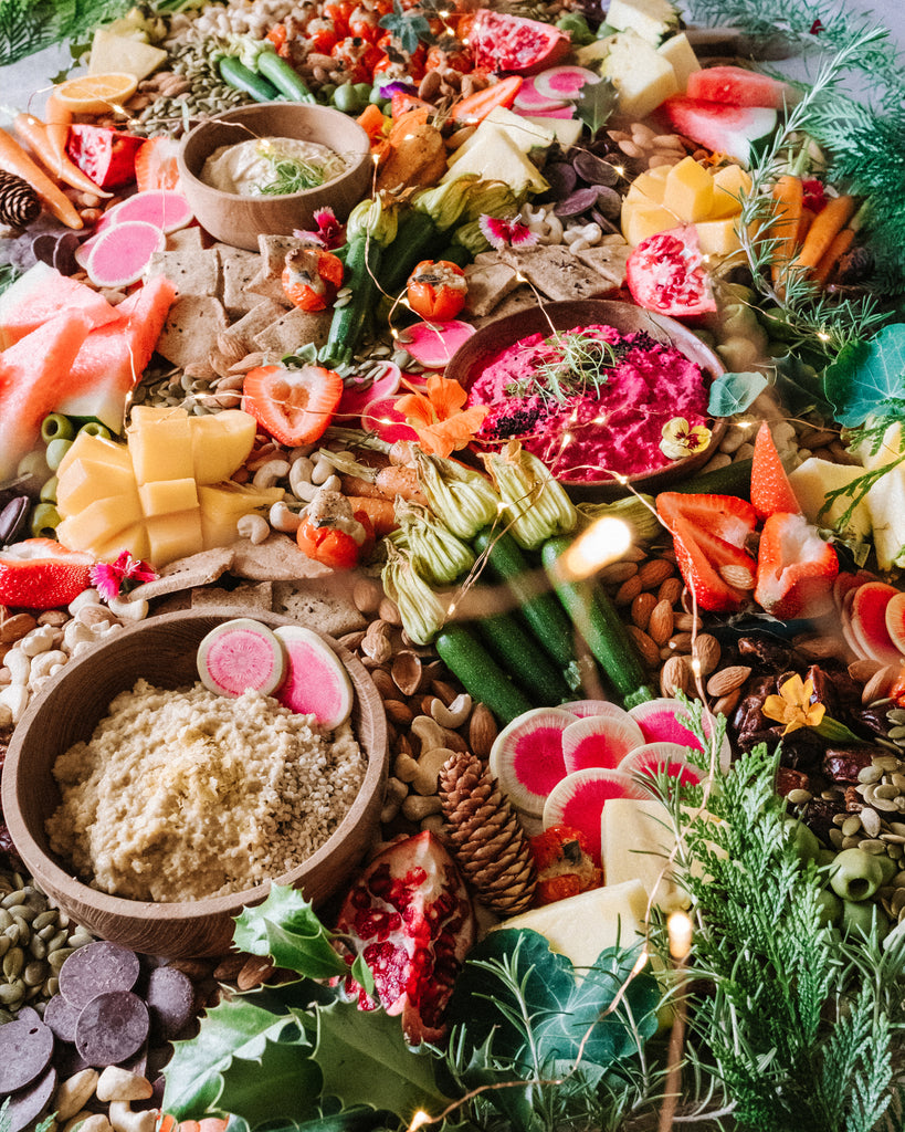 Wholesome Christmas Grazing Board