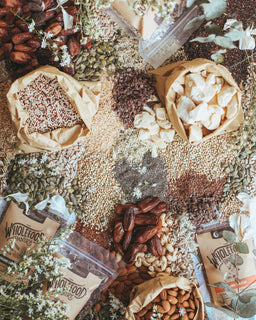 the wholefood pantry flat lay