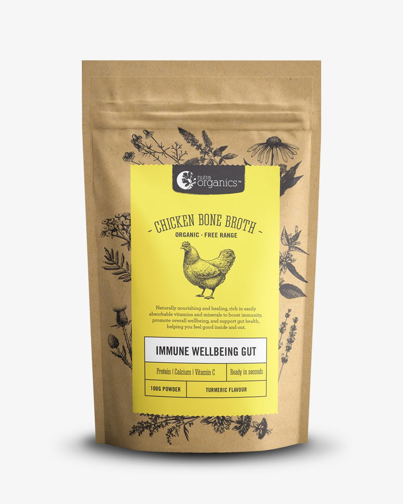 chicken bone broth turmeric 100g