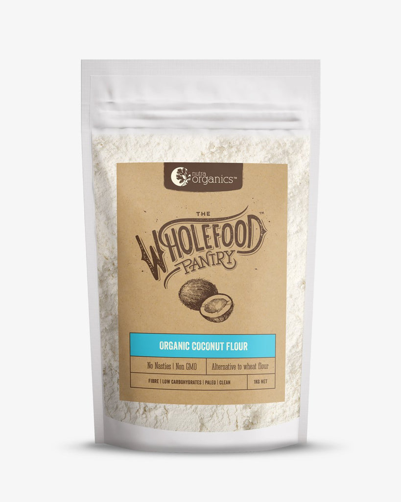 Organic Coconut Flour The Wholefood Pantry Nutra Organics