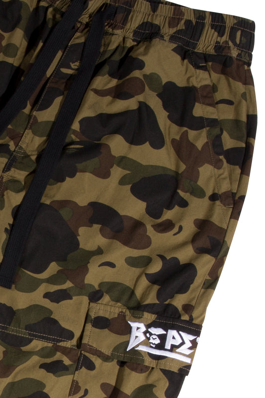 BAPE 1st Camo Side Zip 6 Pocket Jogger