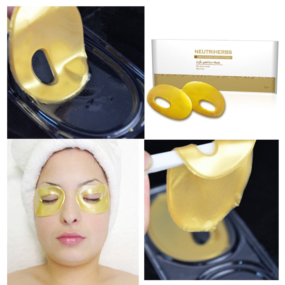 24k Gold Eye Circle Mask - amarrie cosmetics