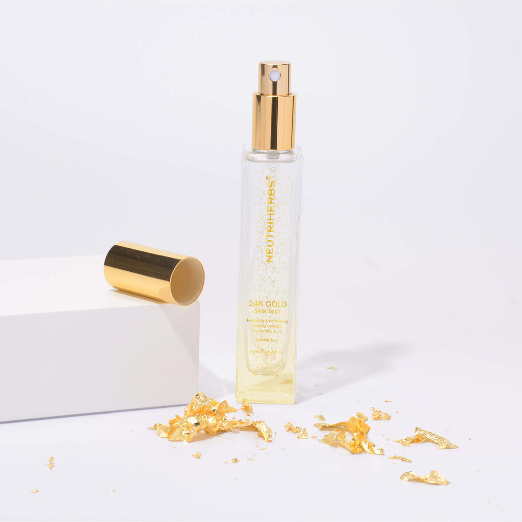24K Gold Skin Mist-Provide low minumum quantity