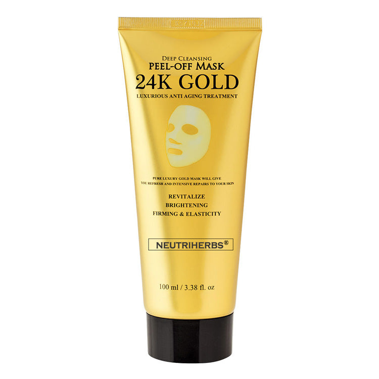 24K Gold Collagen Peel Off Mask For Fine Lines Wrinkles - amarrie cosmetics