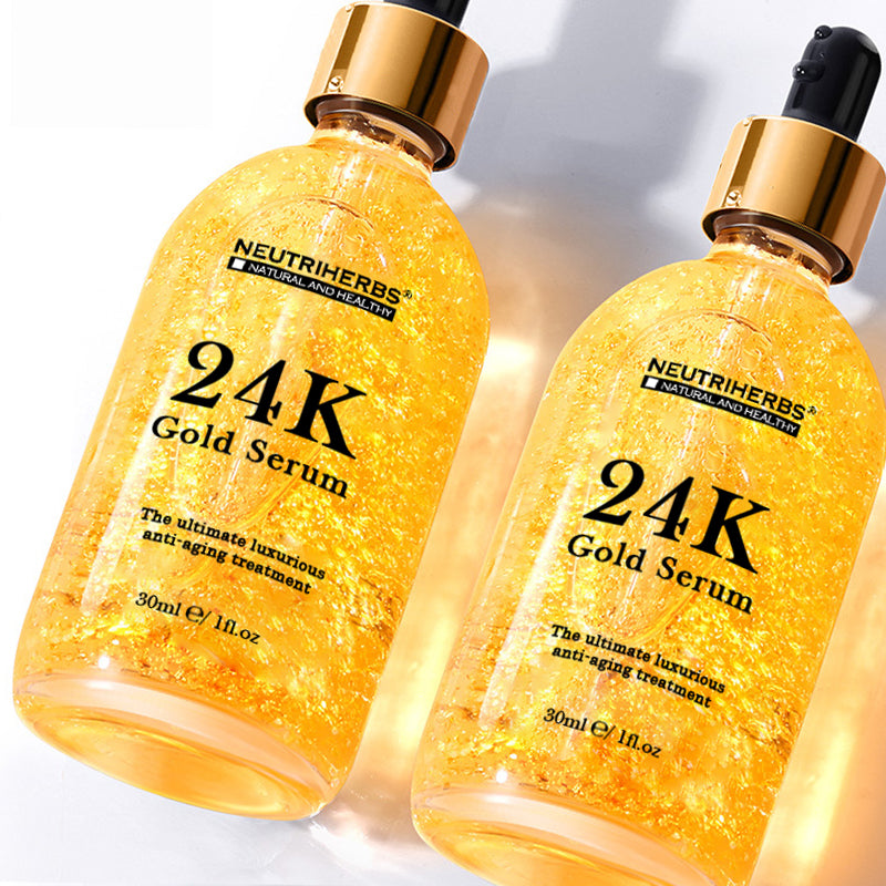 24K Gold Leaf Face Serum For Wrinkles and Fine Line - amarrie cosmetics