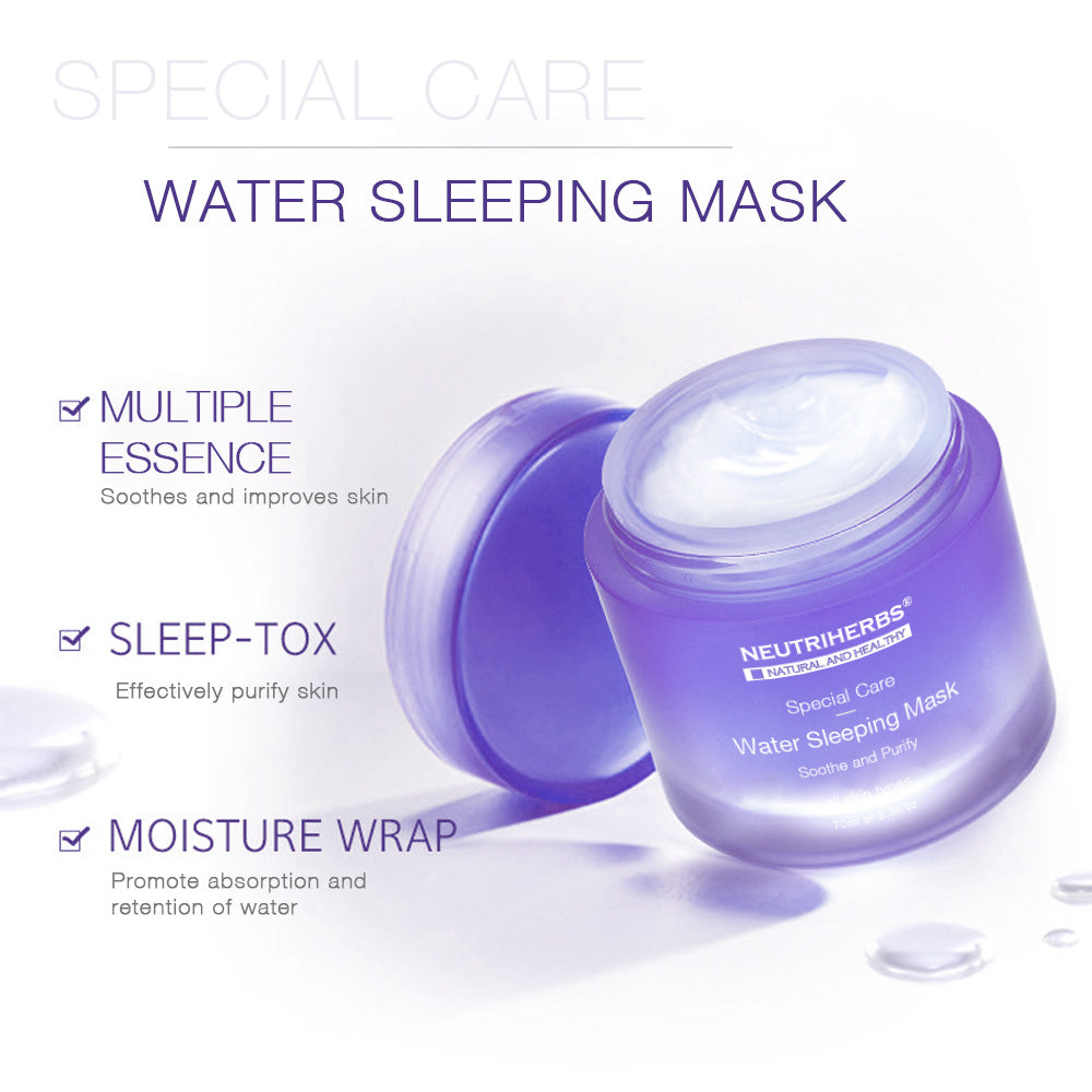 Neutriherbs Moisturizing Lavender Deep Hydrating Mask Sleeping Mask Cream