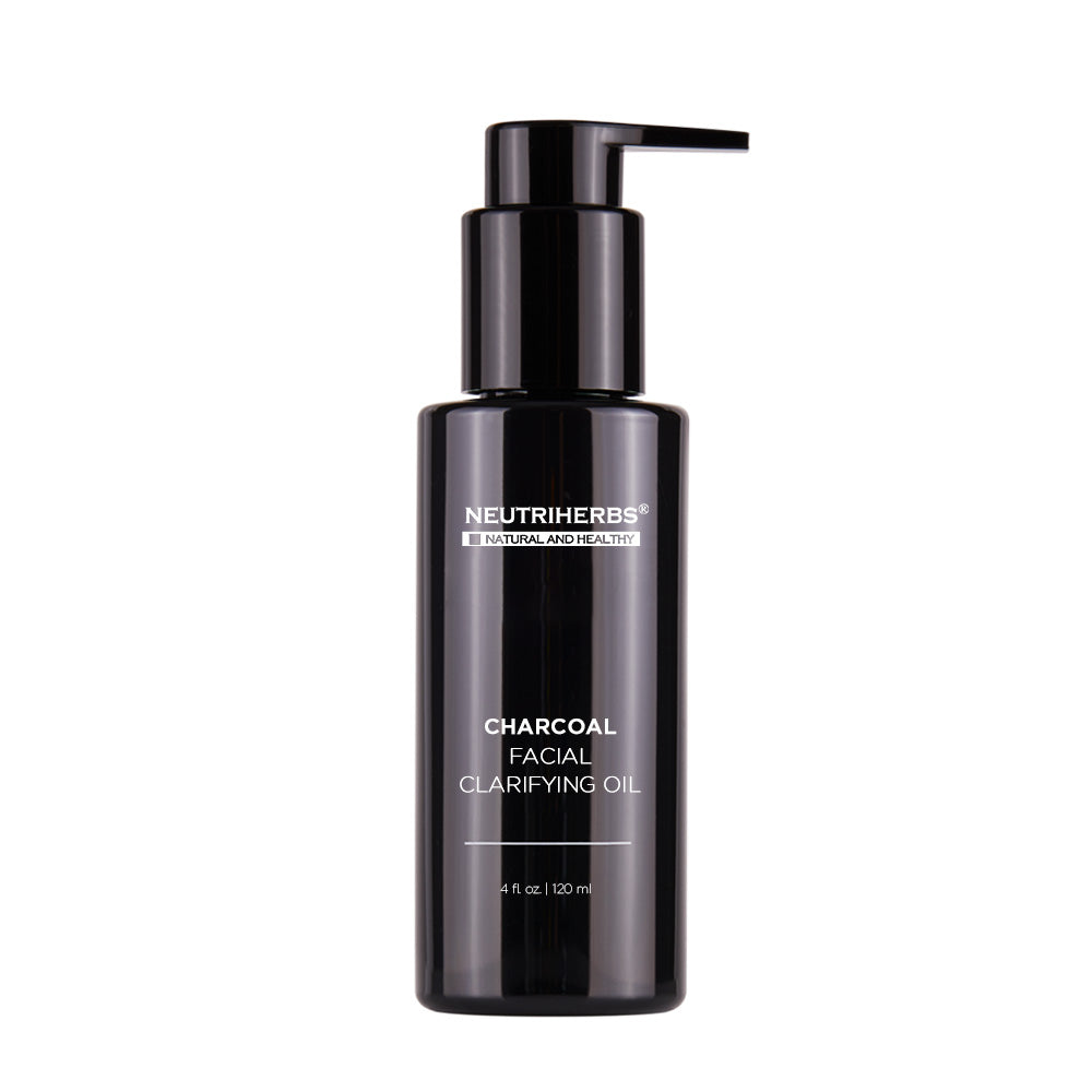 Liquid Charcoal Facial Clarifying Oil for Restore healthy & blemish-free skin - 10years professinoal private label manufacturer