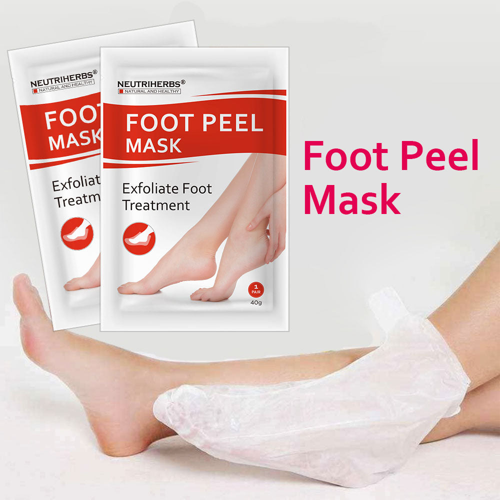 Foot Peel Mask For Soft and Smooth Feet - amarrie cosmetics